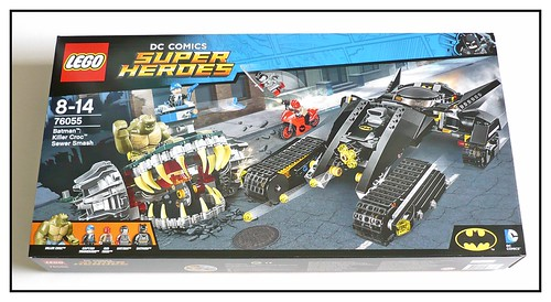 LEGO DC Super Heroes 76055 Batman Killer Croc Sewer Smash box01
