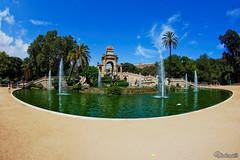 Parc de la Ciutadella. Barcelona. Spain