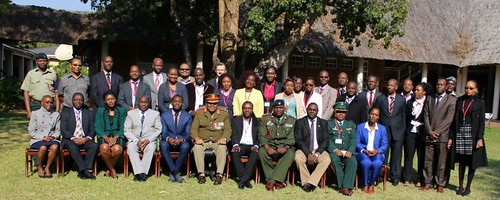 African Union Commission Civilians' Foundation Course, Harare, Zimbabwe, 25-30 July 2016