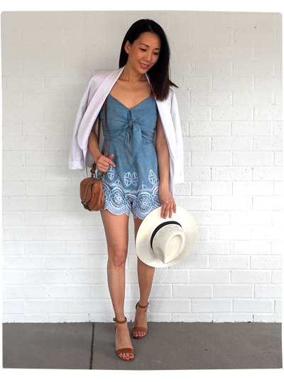 Revolve - Lovers + Friends Romper