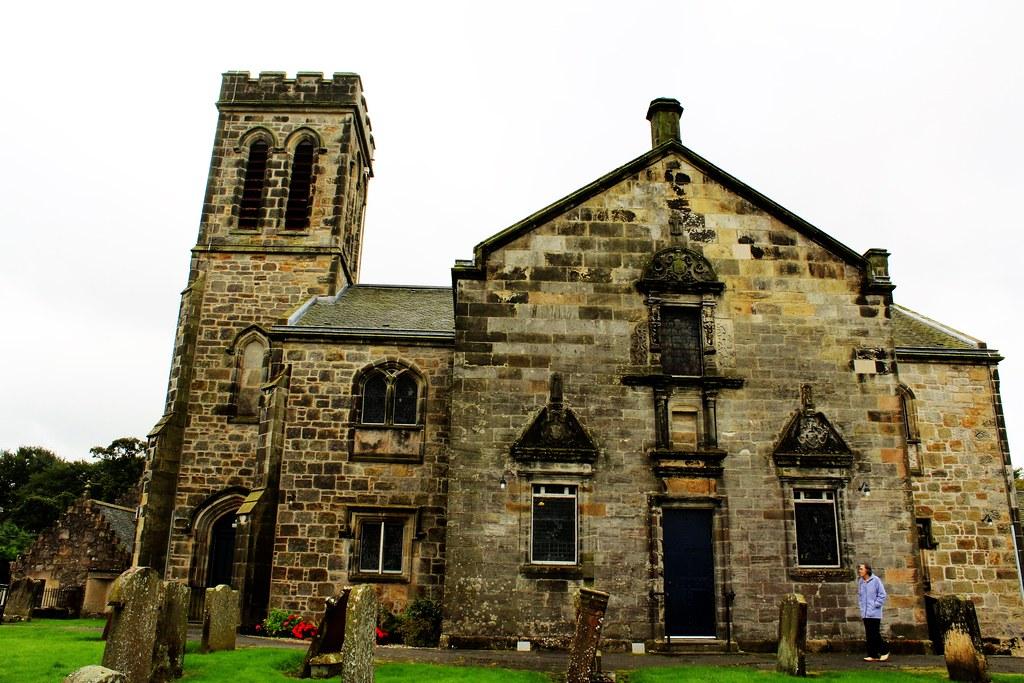 Dunlop Parish Church, Ayrshire, Scotland.