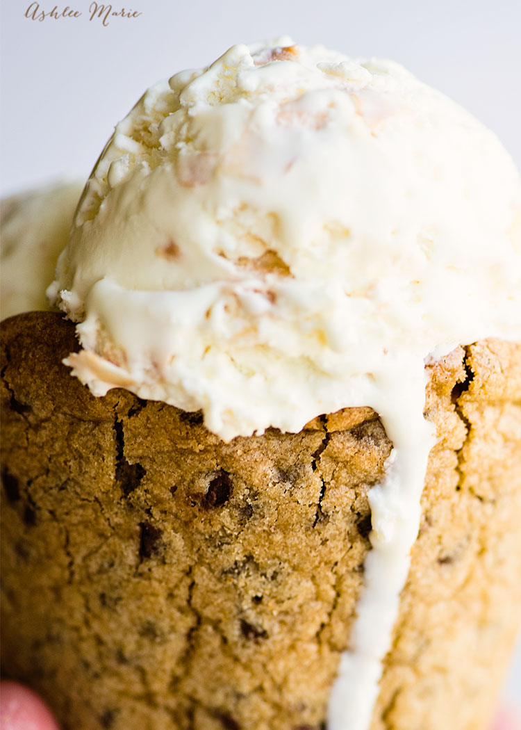 this chocolate chip cookie cone is easy and so delicious to make, a huge hit with everyone