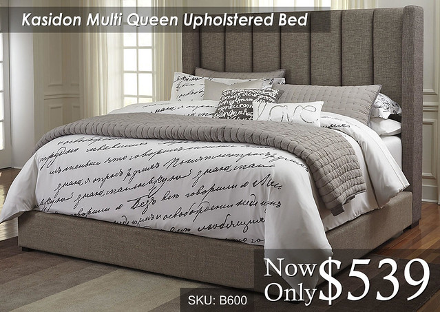 Kasidon Multi Queen Upholstered
