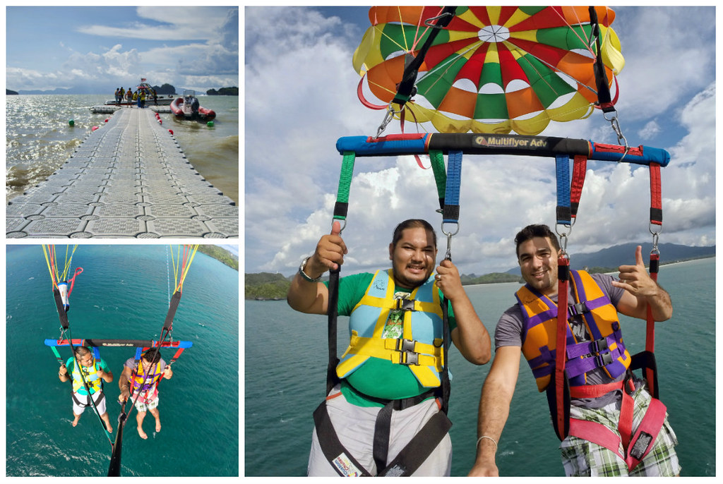 Parasailing Naam Adventures Langkawai Malaysia