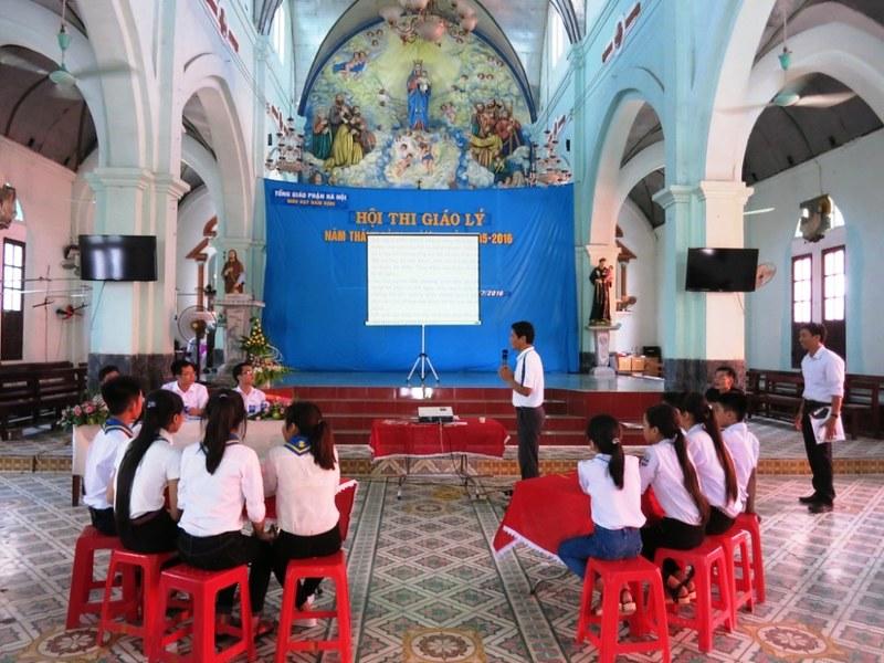 Giáo Hạt Nam Định: Ngày Hội Thi Giáo Lý 2016