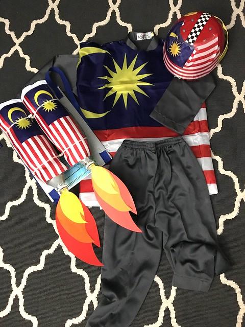 Merdeka Costume 2016