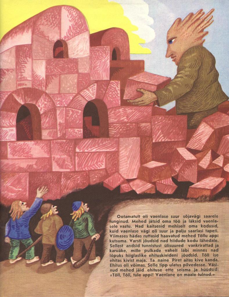 Tõll the Great - Page 06 - Written by Rein Raamat, Illustrated by Jüri Arrak, 1982
