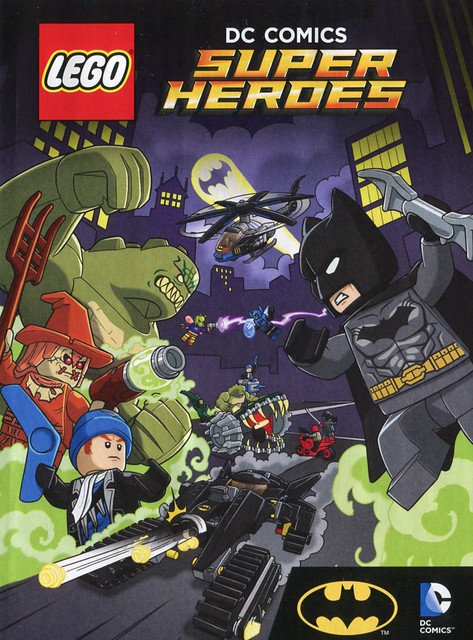 LEGO DC Super Heroes 76055 Batman Killer Croc Sewer Smash ins05