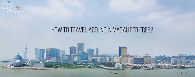 how to travel around macau for free