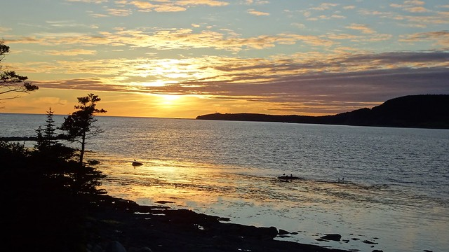 Sunset at Rocky Harbour
