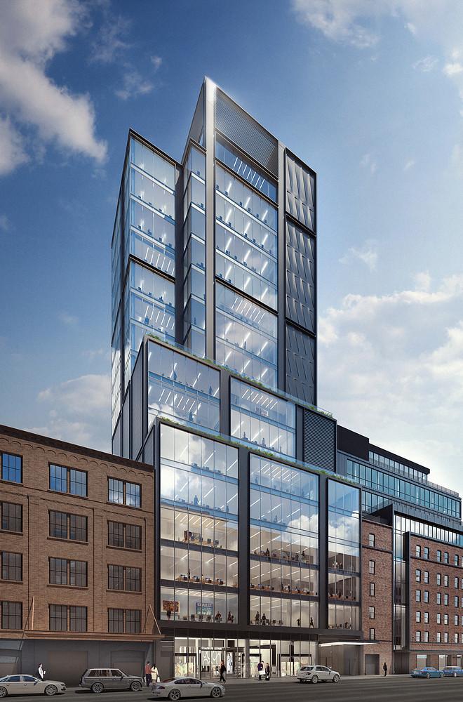 82-метровая башня на Манхэттене. Проект CetraRubby