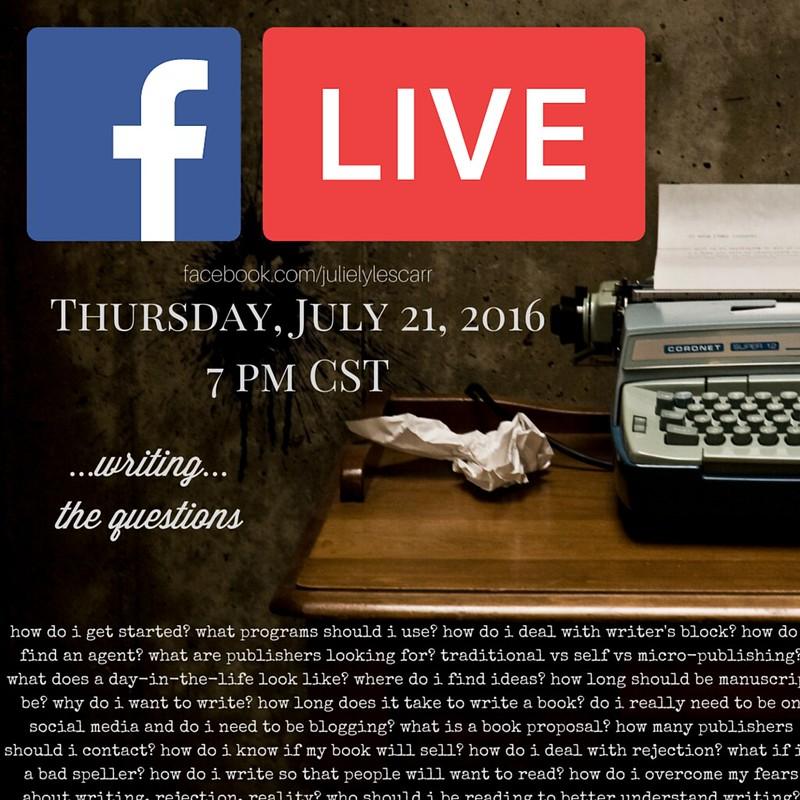 FB Live July 21