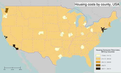 Housing costs in America, 2015