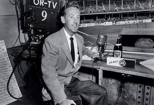 Vin Scully in Brooklyn