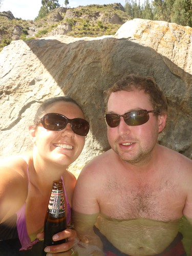 Us in the hot spring
