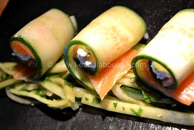 Bouchées au Saumon Comcombre & Fromage Frais © Ana Luthi Tous droits réservés 014