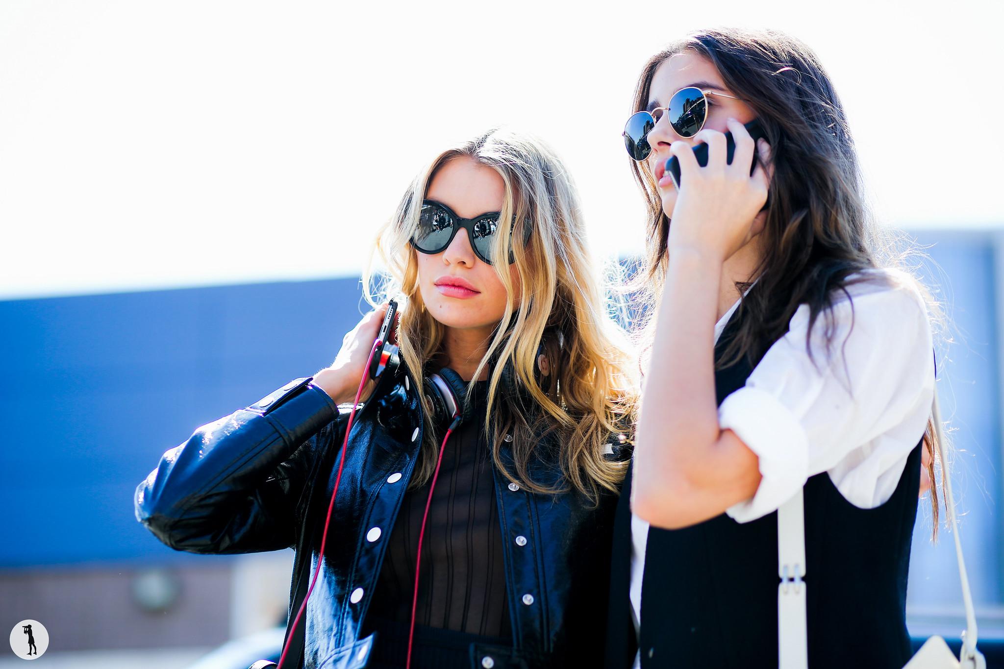 Street style, New York Fashion Week SS16
