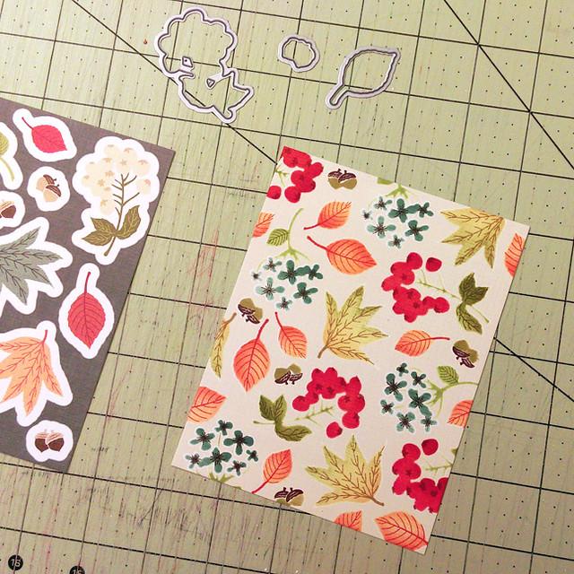 Color Pop Autumn Paper