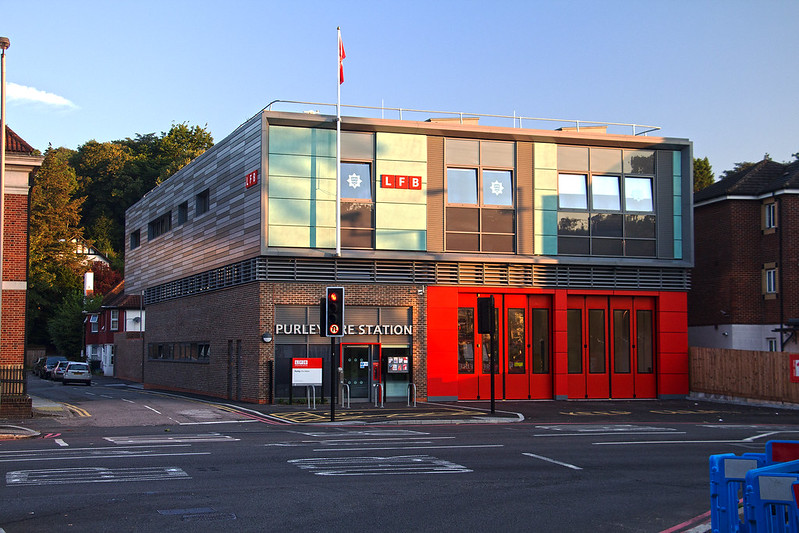 Purley Fire Station Aug 2016