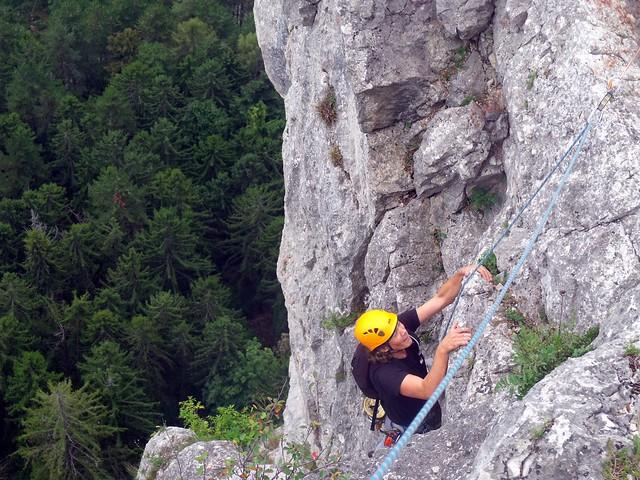 Hohe Wand Der Alte Wolf 175 m (6+)