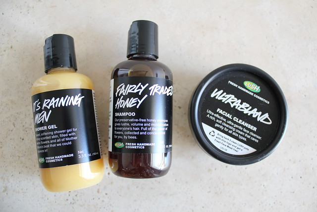 Lush It's Raining Men, Fairly Traded Honey, and Ultrabland review