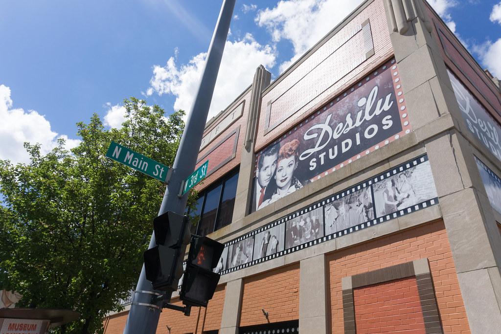 Desilu Studios in Lucille Ball's Hometown Jamestown, N.Y., Aug. 6, 2016