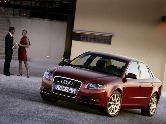 Полноприводный седан Audi A4 B7. 2004 - 2007 годы