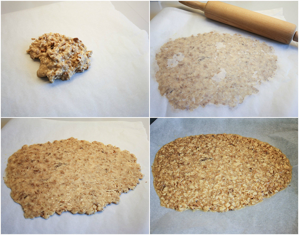 Recipe for homemade Walnut crocant
