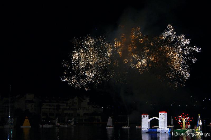 """Фейерверк """"Бокельской ночи 2016"""""""