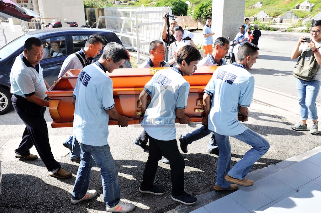 Penang Quadruple Murder Victim Funeral (17 July 2016)