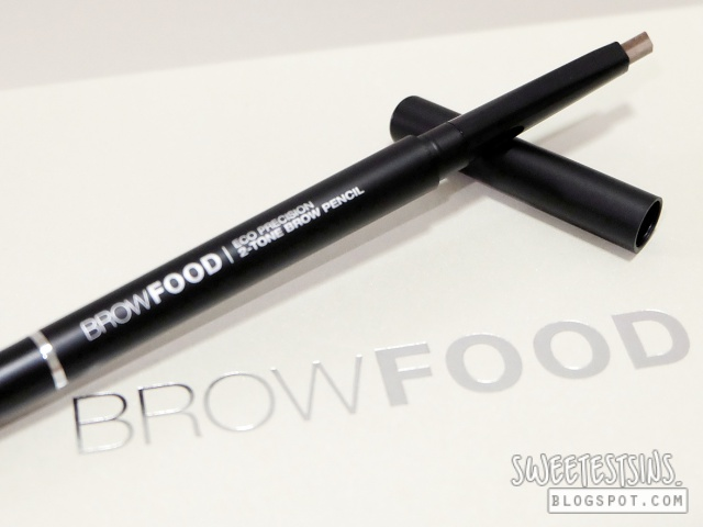 browfood brow transformation system eco precision 2 tone brow pencil