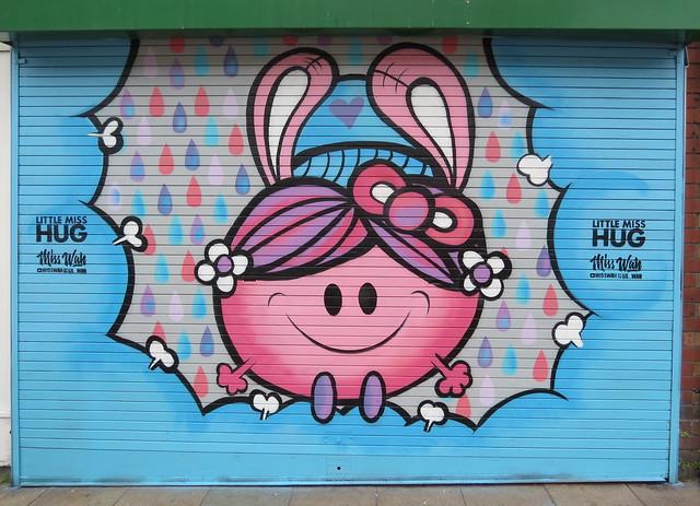 Upfest - Little Miss Hug by Miss Wah