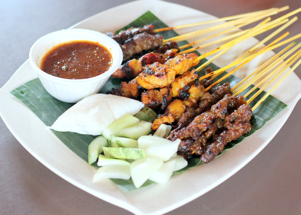 East Coast Lagoon Food Village: Harons Satay