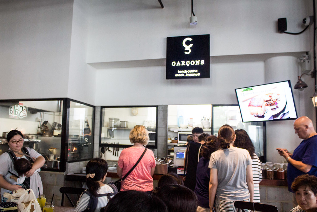 Fancy Hawker Food: Garcons
