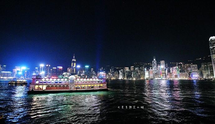 5 香港 閃躍維港 3D光雕匯演