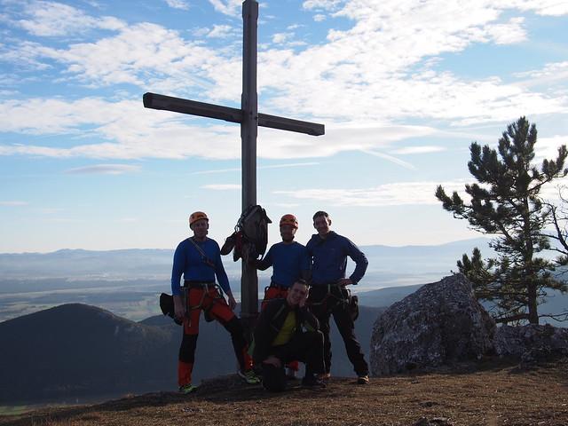 Hohe Wand Festung Europa 260 m (7+)