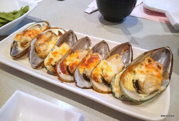 Baked Japanese Style Mussel