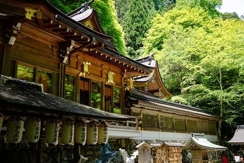 Kifune Shrine (貴船神社) in Summer in Kibune (貴船) Kyoto (京都) Japan  Flickr - Pho...