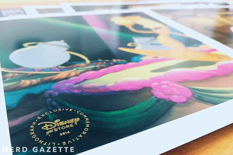 Beauty and the Beast Lithograph Set | VSCO A2