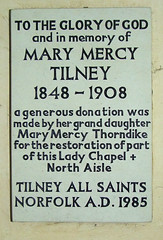 Mary Mercy Tilney