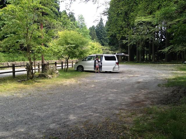 不破の滝 緑地休養施設 駐車場