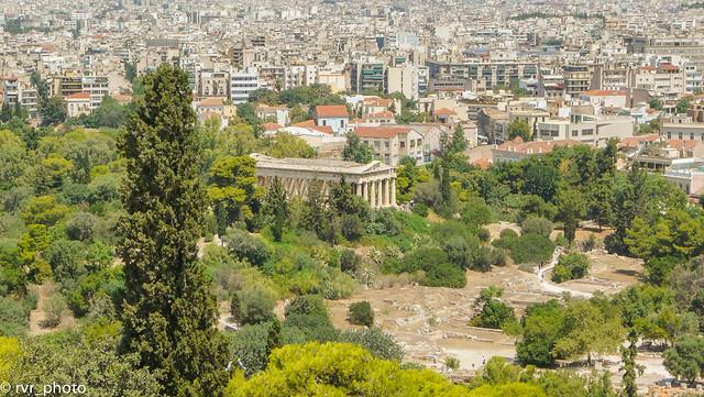 Templo de Hefestión - Acrópolis