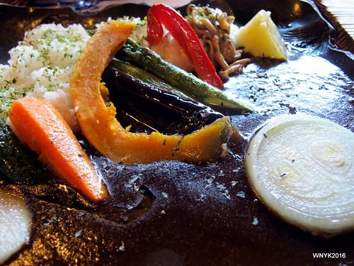Black Vegetable Curry