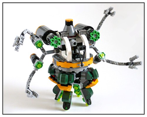 LEGO Marvel Super Heroes 76059 Spider-Man Doc Ock's Tentacle Trap 31