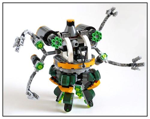 LEGO Marvel Super Heroes 76059 Spider-Man Doc Ock's Tentacle Trap 31