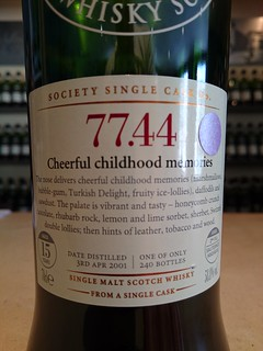 SMWS 77.44 - Cheerful childhood memories