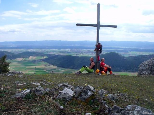 Hohe Wand Festung Europa 300 m (7+)