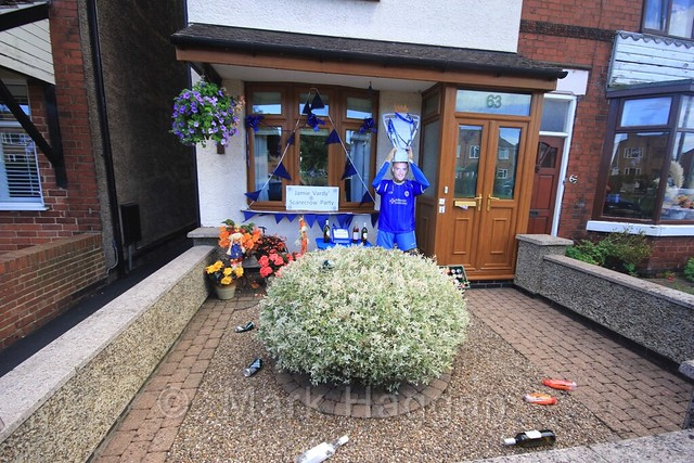 Vardy's Scarecrow Party at the Heather Scarecrow Festival 2016