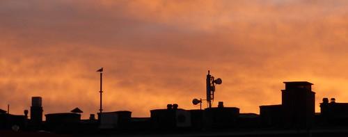 sunrise in Helsinki