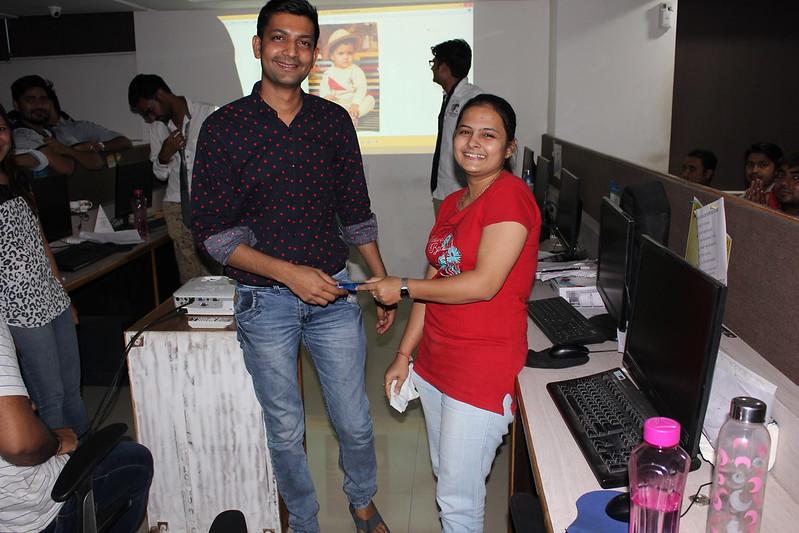Ankit and Chaya